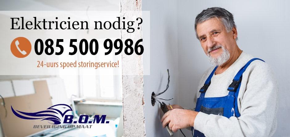Elektricien Schiedam – 24/7 storing service