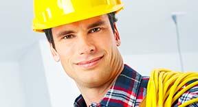 full service installatie door elektricien