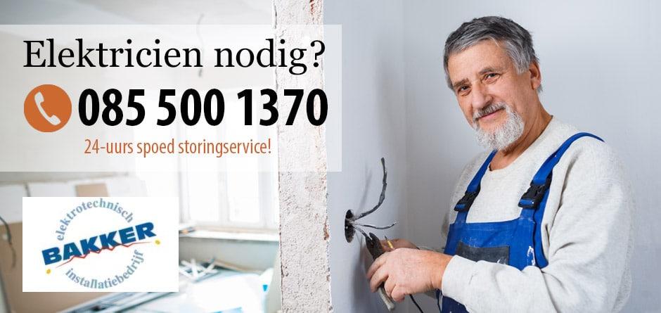 Elektricien Hoofddorp – 24/7 storing service