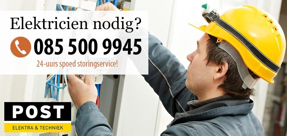 Elektricien Purmerend – 24/7 storing service